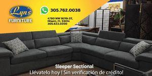 Sleeper sectional for Sale in Hialeah, FL