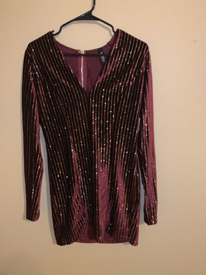 Gold and maroon dress from Akira for Sale in Collinsville, IL