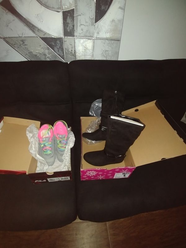 Girls sneaker and boots!