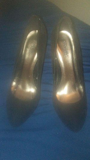 Black Velvet Wedges size 7 for Sale in Santa Ana, CA