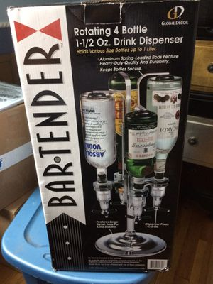 Rotating four bottle drink dispenser for Sale in Manchester, CT