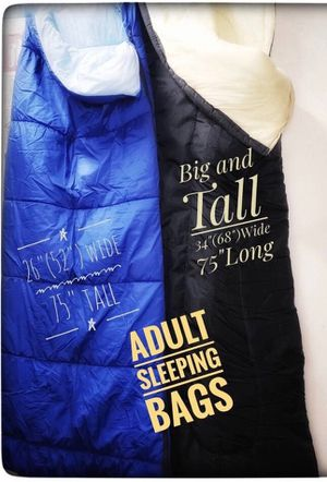 Two sleeping bags like new for Sale in Glendale, AZ
