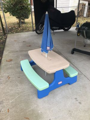 Little tikes outdoor table for Sale in Norfolk, VA
