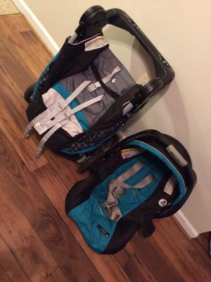 Stiller and car seat set for Sale in Alexandria, VA