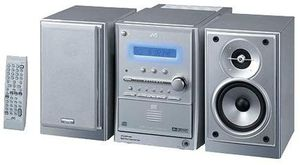 JVC FS-S77S DVD Micro Component Stereo System - SILVER for Sale in Portland, OR