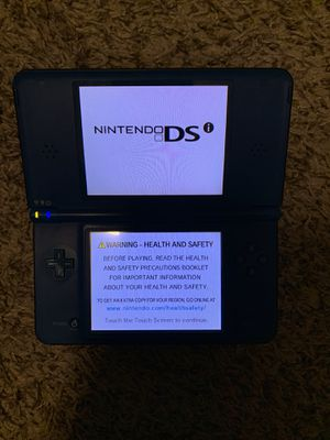 NINTENDO DSI XL HANDHELD CONSOLE SYSTEM WITH VIDEO GAME for Sale in Las Vegas, NV