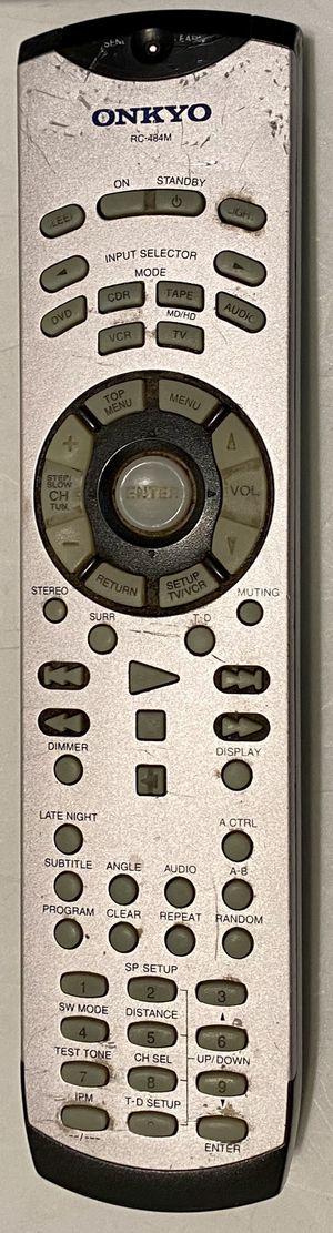 Onkyo Remote RC-484M for Sale in Scottsdale, AZ