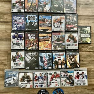 Lot Of Sony PlayStation PS2/PS3 Games for Sale in Livermore, CA