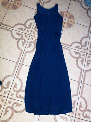 Royal Blue Long Dress Size L/XL/ Vestido Azul for Sale in Bell Gardens, CA