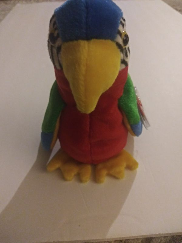Beanie baby Jabber the parrot
