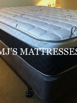 BAMBOO BRAND PILLOW TOP MATTRESS 💥 BEST PRICES 📆 WE DELIVER SAME DAY 🤝 for Sale in Hawthorne,  CA
