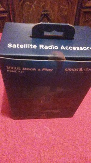 Sirius Dock & Play Home Kit for Sale in Washington, DC