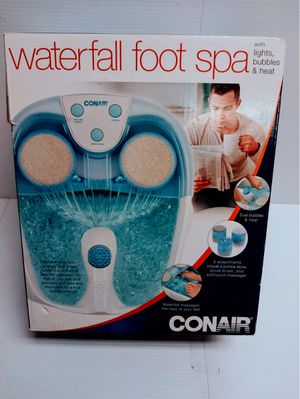 CONAIR WATERFALL FOOT SPA - NEW for Sale in Wethersfield, CT
