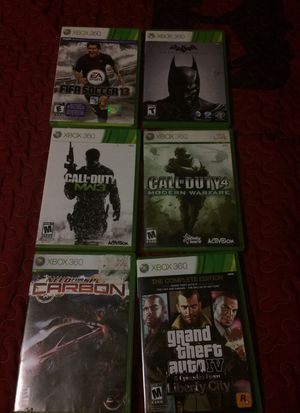 Xbox 360 games for Sale in San Angelo, TX