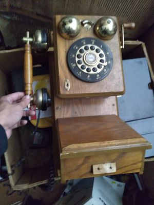 Antique phone for Sale in Crest Hill, IL