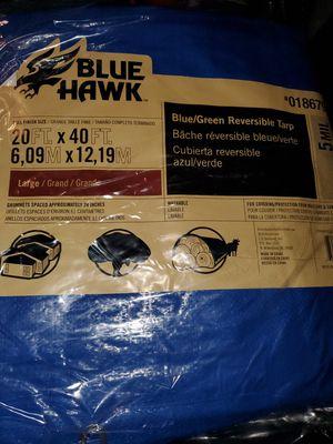 Wow 2 brand new 20x40 tarps $82 value !! for Sale in Brockton, MA