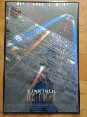 Star Trek First Contact framed movie poster for Sale in Alexandria, VA