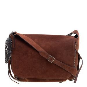Coach Brown Suede Whipstitch Chain Dakota Messenger Bag for Sale in Rancho Mirage, CA