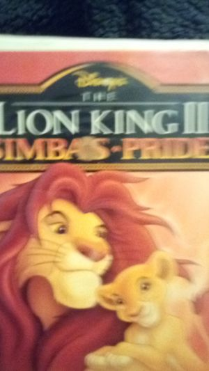 Lion King 2 Simba's pride for Sale in Dallas, TX