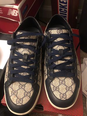 Gucci monogram sneakers 42.5 for Sale in Severn, MD