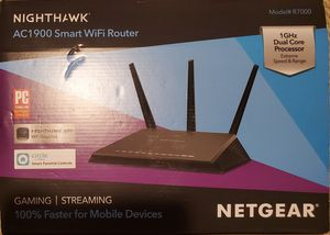 Nighthawk AC1900 smart wifi router for Sale in Baltimore, MD
