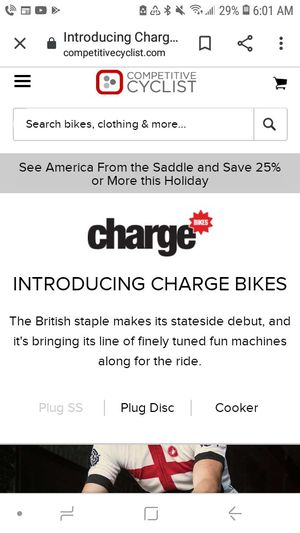 Charge bike for sale for Sale in Oregon City, OR