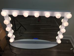 Hollywood Vanity Mirror w/ Bluetooth (New) $450 OBO for Sale in Atlanta, GA