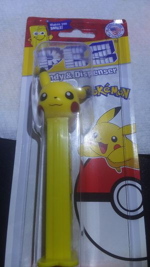 Pokemon Pez Dispenser - Pikachu - new in Package for Sale in Waynesboro, TN