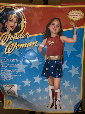 Wonder Woman costume youth size 4-6 for Sale in Spring, TX