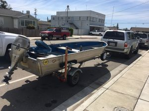 14' aluminum mirrocraft boat for Sale in Sunnyvale, CA
