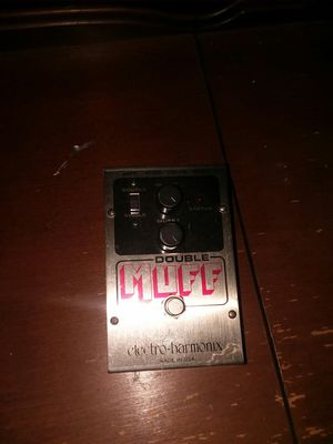 Electro harmonix double muff pedal for Sale in Knoxville, TN
