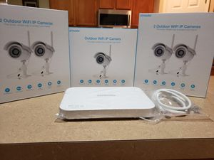 ZModo outdoor Wifi security cameras for Sale in Kissimmee, FL