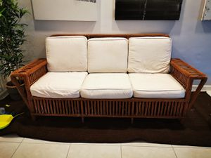 Palecek President Sofa 3900$ (was 6500$) outdoor or indoor very rare piece for Sale in Miami Beach, FL