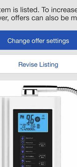 Alkaline Water Machine for Sale in Los Angeles,  CA