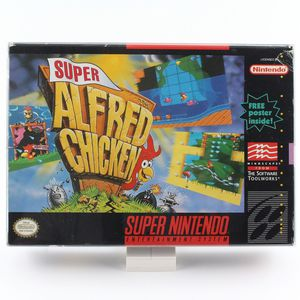 Super Alfred Chicken for the Super Nintendo SNES COMPLETE CIB for Sale in Brooklyn, NY