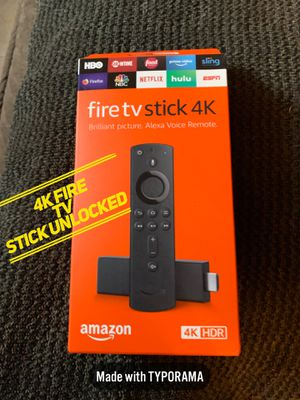 4K fire TV stick for Sale in Philadelphia, PA