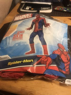 kids spiderman costume size small for Sale in Mesa, AZ