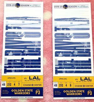 GSW VS LAL for Sale in Hayward, CA