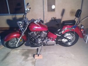 2008 YAMAHA V STAR CLASSIC 650cc LIKE NEW MOTORCYCLE for Sale in Palmdale, CA