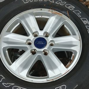 4 17 6x135 Wheels And Tires for Sale in West Greenwich, RI