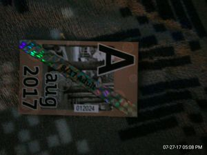 Aug adult all zone pass for Sale in Portland, OR