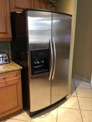 KitchenAid.. 25 cu.. stainless steel.. Refrigerator/ Freezer. Original cost was $ 1200 ! for Sale in Weston, FL