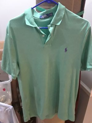 Ralph Lauren s/s green polo for Sale in Tuscaloosa, AL