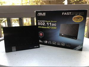 ASUS Dual-Band Wireless-AC1200 Gigabit Router for Sale in Santa Ana, CA