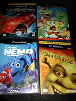 4 GameCube games for $15 for Sale in Elgin, IL