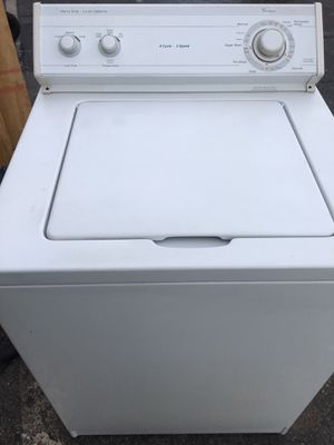 Whirlpool washer for Sale in Miami, FL