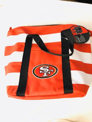 San Francisco 49ers insulated tote holds up to 20 cans NEW for Sale in Fontana, CA