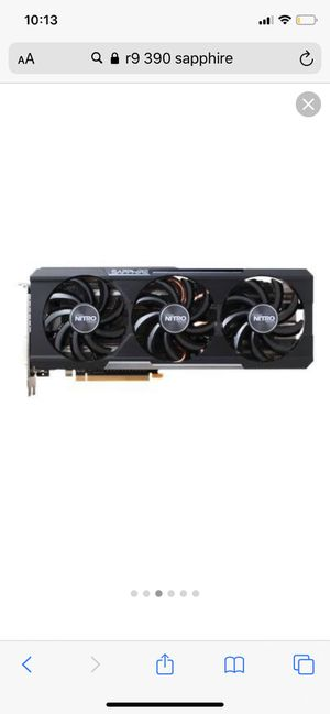 Sapphire R9 390 Nitro 8gb GPU(graphics card) for Sale in Ravenna, OH