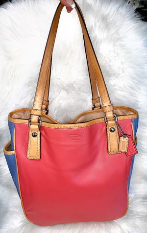 Authentic Leather Coach Purse for Sale in Chandler, AZ