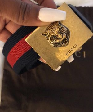 Authentic Gucci Belt with Dust Bag for Sale in Chicago, IL